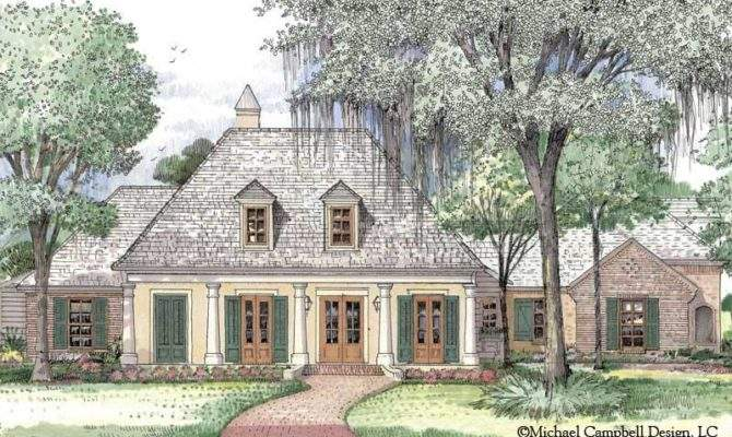 French House Plan South Louisiana Plans Our