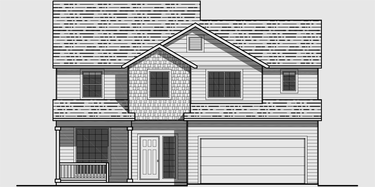 Front House Plans Escortsea
