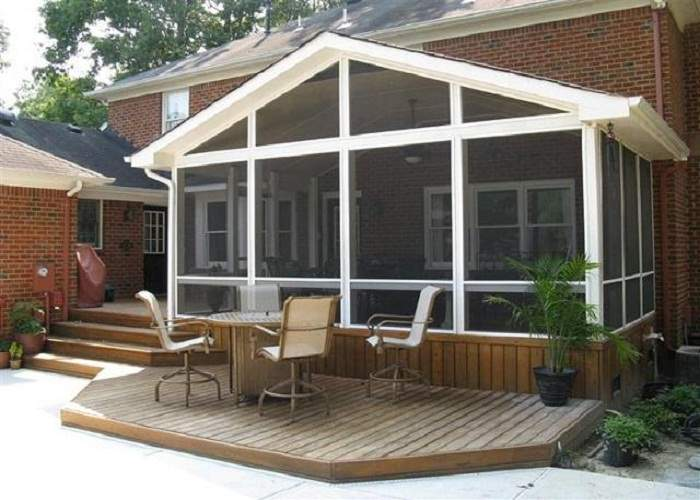 Front Porch Designs Much Cost
