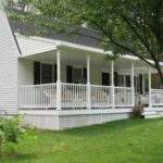 Front Porch Designs Ranch Style Homes Home Design