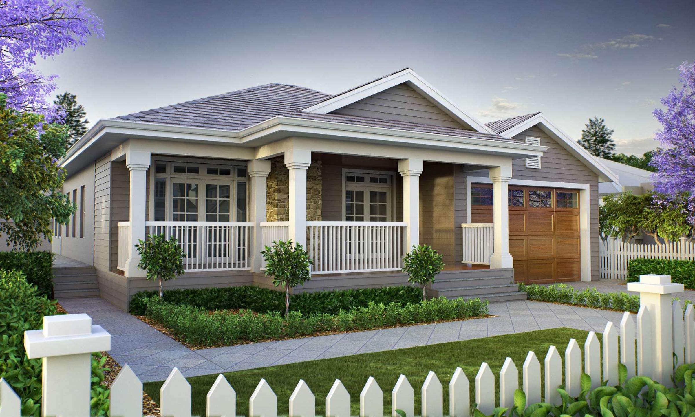 Front Porch Designs Single Story Homes Homemade Ftempo