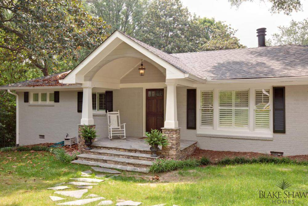 Front Porch Ranch Style Home Renovations Success