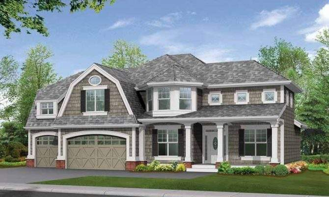 Gambrel Roof Home Plans Search Results
