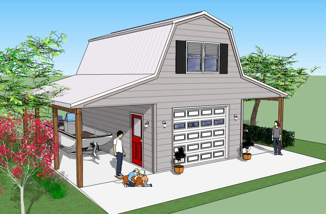 Garage Apartment Plans Steel Buildings House