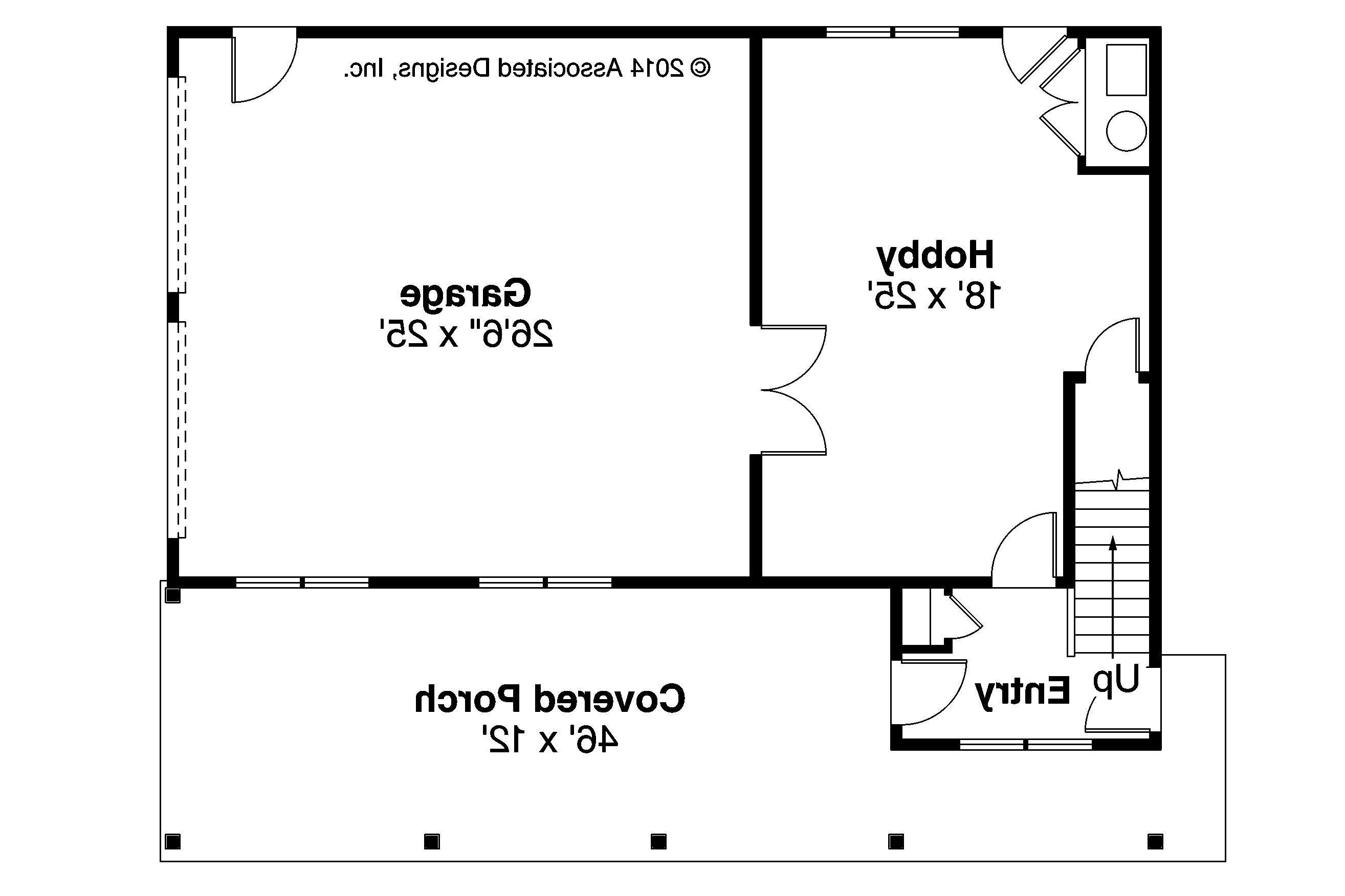 Garage Plan First Floor