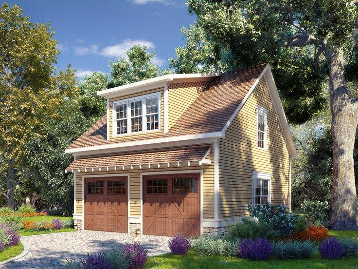 Garage Plans Lofts Craftsman Style Car