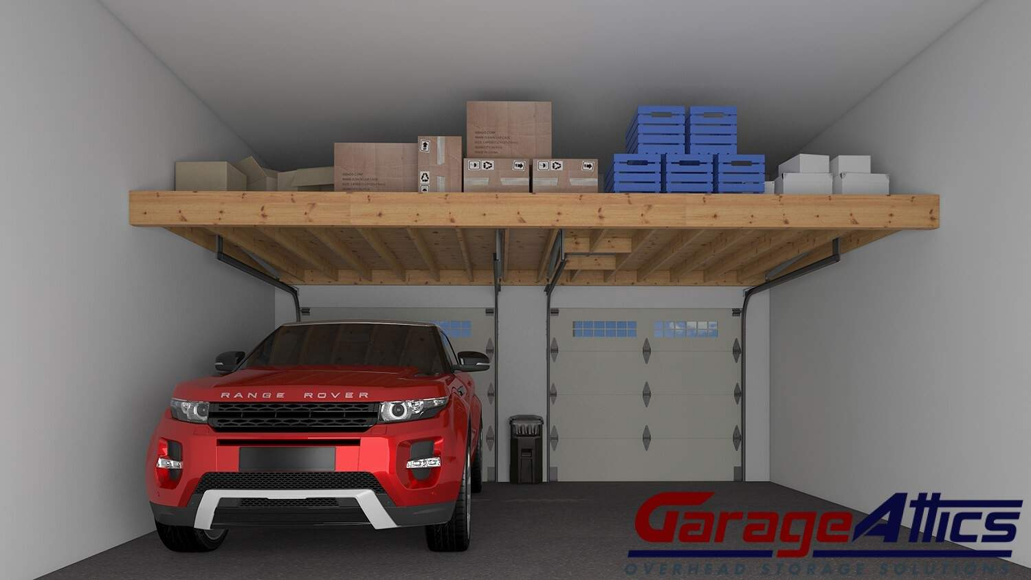 Garage Storage Ideas Custom Overhead Lofts