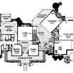Gothic House Floor Plans Plan Enlarge
