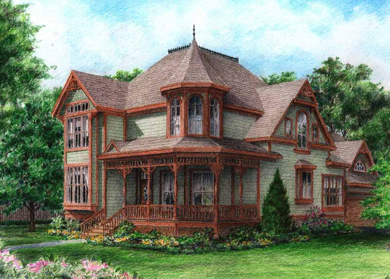 Gothic Victorian Style Homes