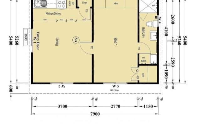 Granny Flat Layout Plans Ideas Mapo House Cafeteria