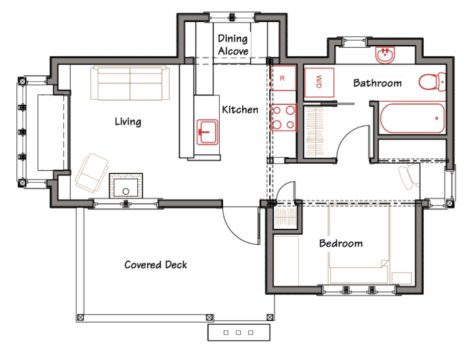 Great Design Home Small House Plans