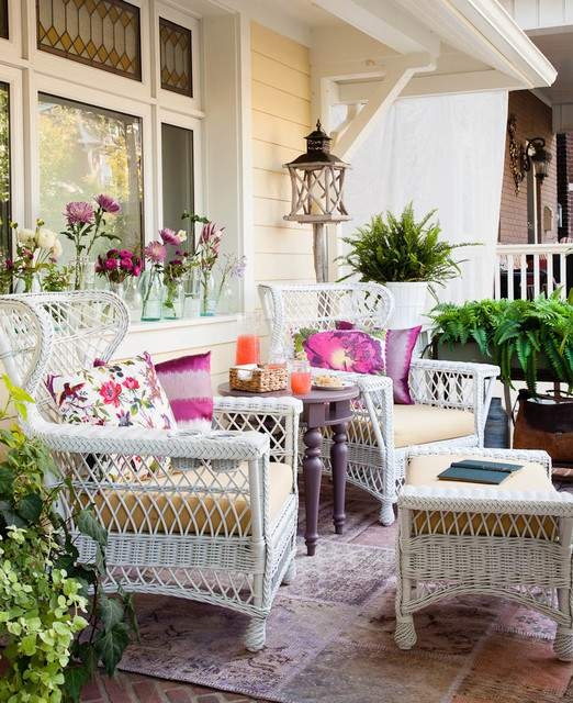 Great Traditional Front Porch Design Ideas Style