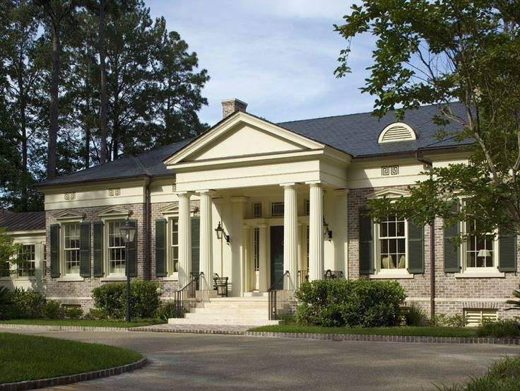 Greek Revival Dream Home Pinterest