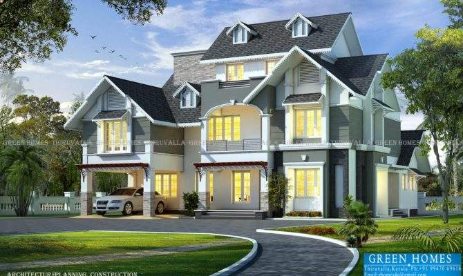 Green Homes Awesome European Style House Feet