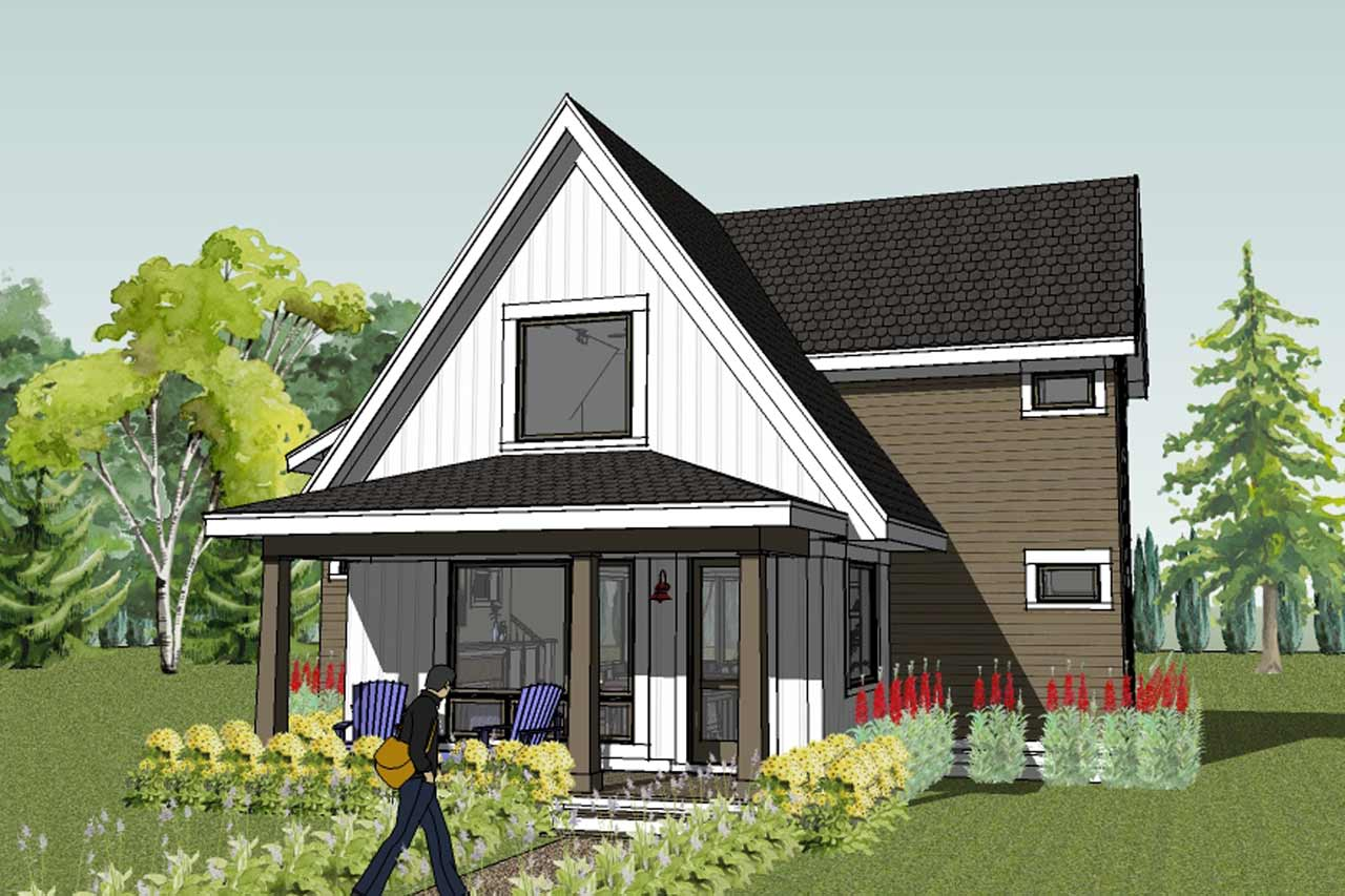 Green House Plans Home Sustainable Designs Cottage