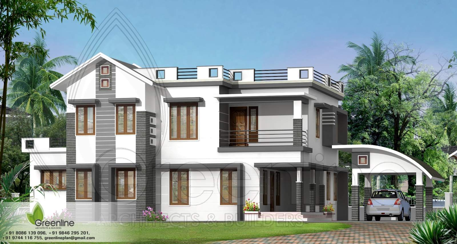 Groovy Trend Also Exterior Design Duplex Home Indian