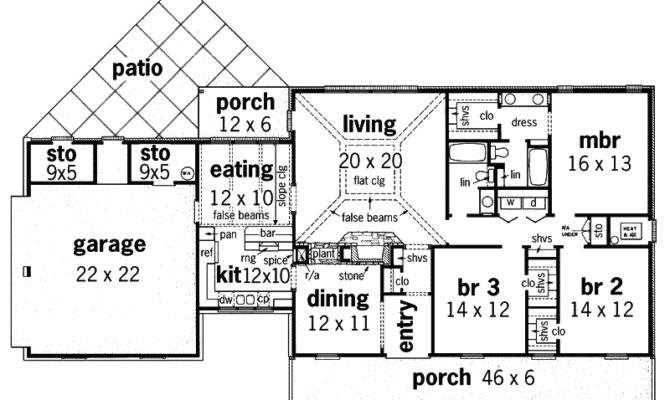 Grove Place Rustic Home Plan House Plans More