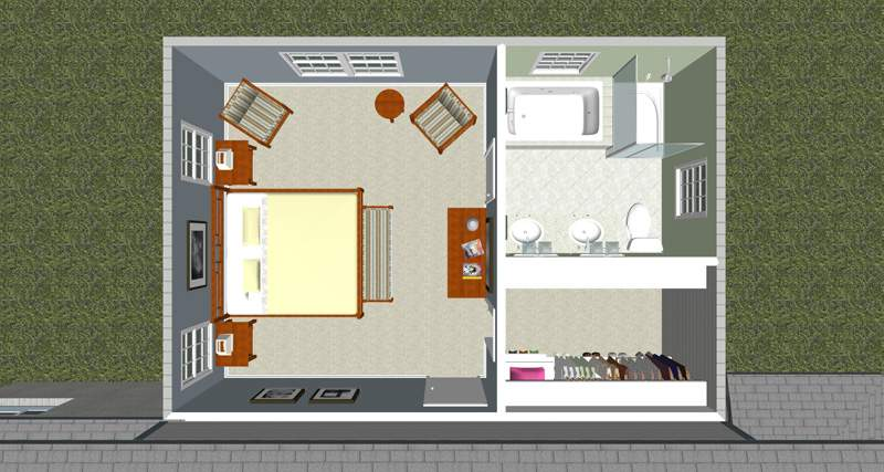 Guerra Construction Creating Ideal Master Bedroom Suite
