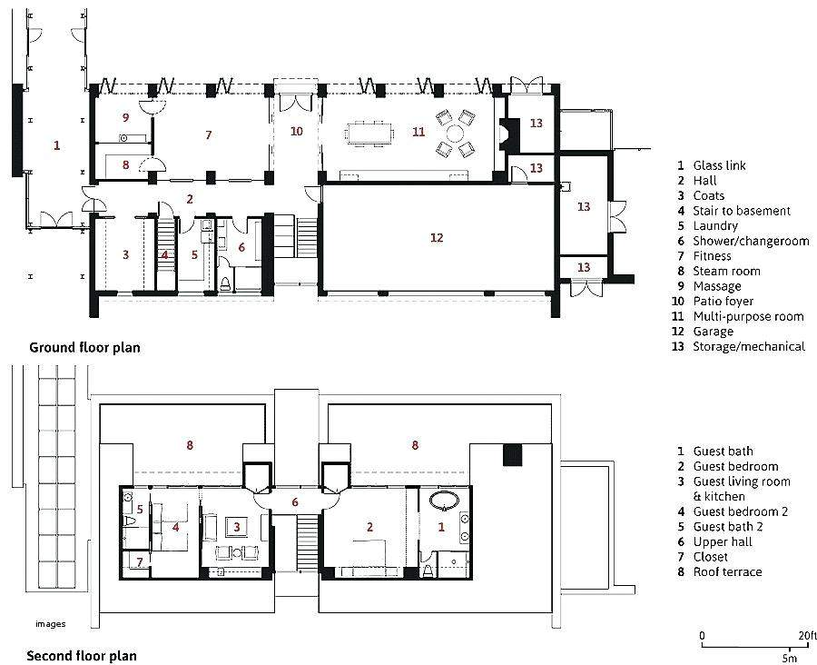 Guest House Floor Plans Bedroom Architectures Meaning
