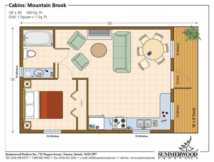 Guest House Plans Pinterest One Bedroom Floor