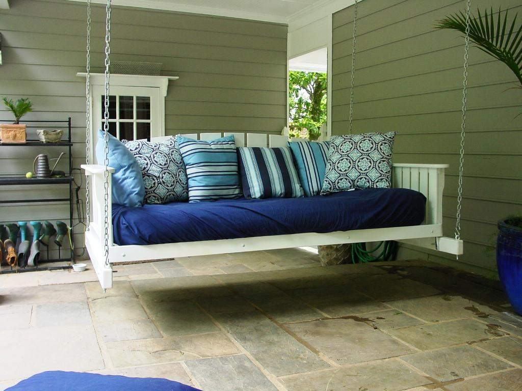 Hanging Daybed Plans Outdoor Second Sun