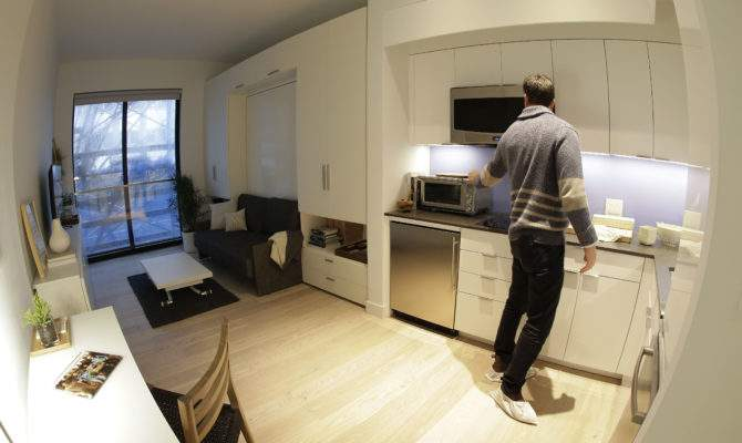 High Tech Millennial Lifestyle Inspires Micro Apartment