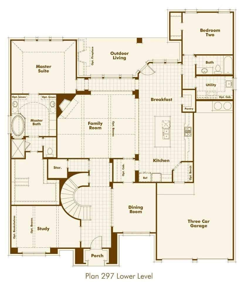 Highland Homes Floor Plans Awesome New Home Plan