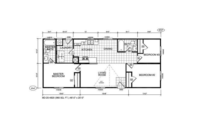 Holly Park Mobile Home Floor Plans