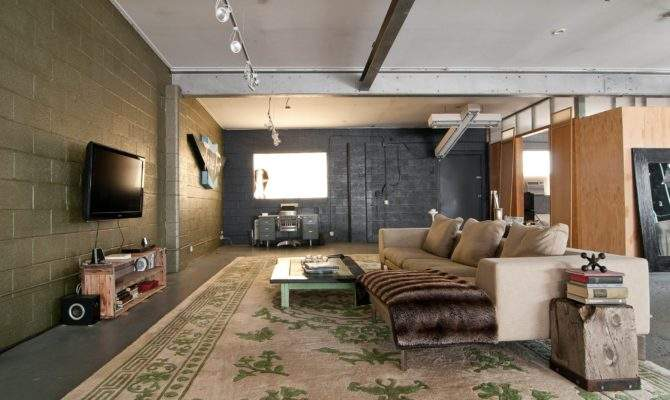 Home Accessories Great Industrial Living Room