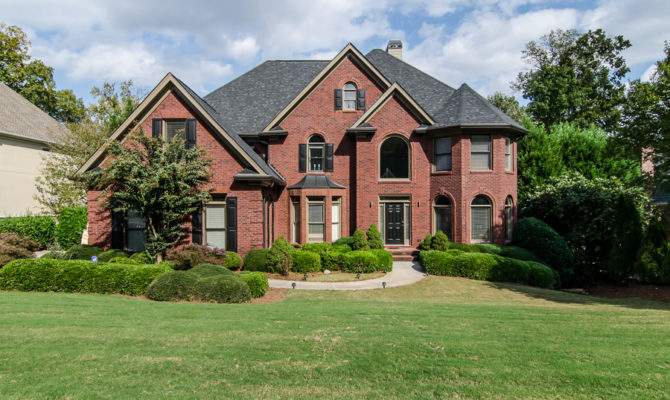 Home Breathtaking Brick Norcross Atlanta Fine Homes