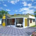 Home Design House Plan Small Modern Villa Kerala