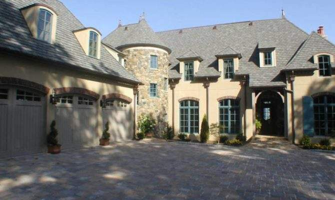 Home Designs Custom French Country House Plans