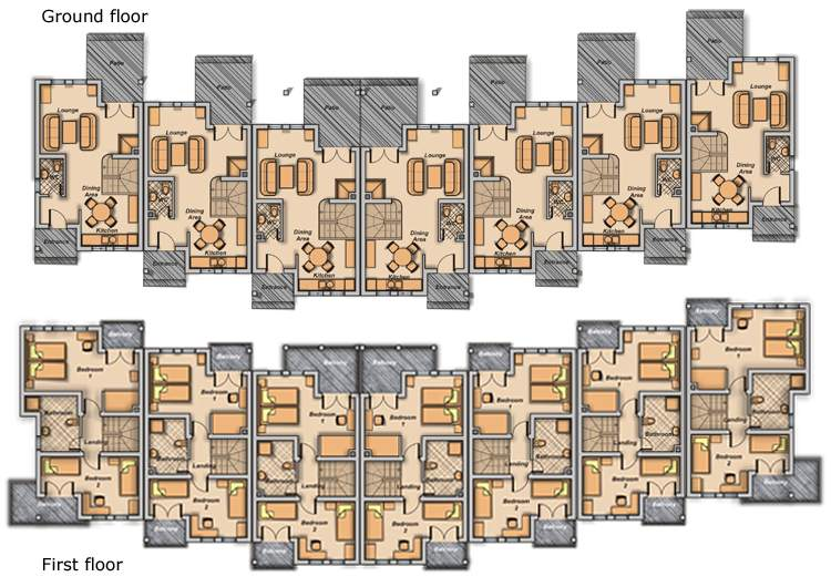 Home Ideas Townhome Designs