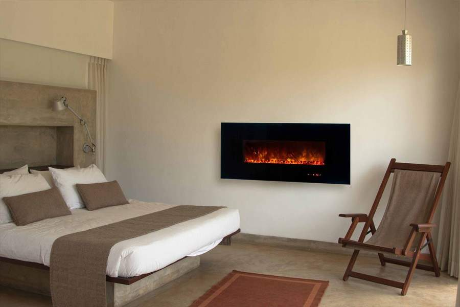 Home News Save Space Corner Electric Fireplace