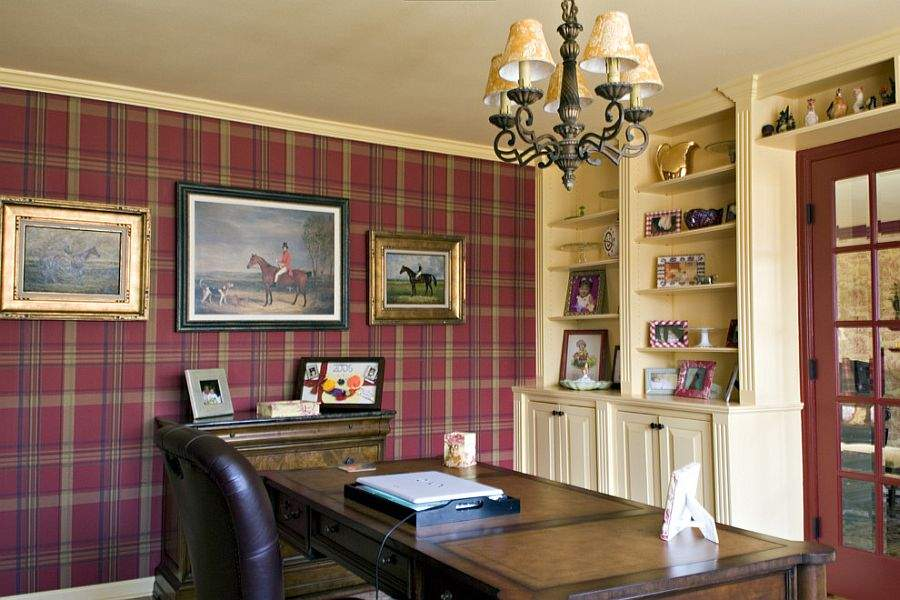 Home Offices Turn Red Energy Excitement