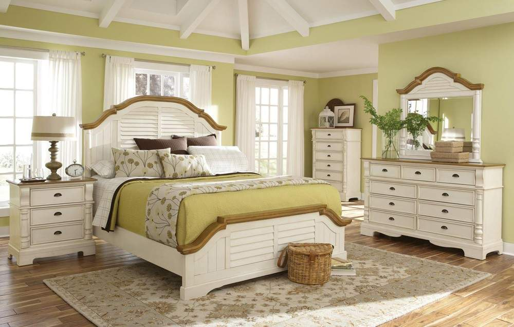 Home Oleta Cottage Style Bed Collection