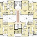 Home Plans Floor Housing Design Resort Residential