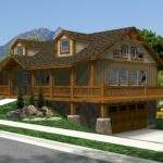 Home Plans Log Homes Floor