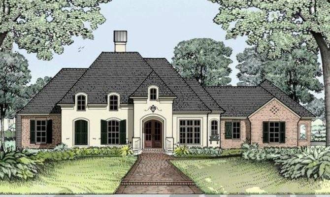 Home Plans Pinterest House French Country