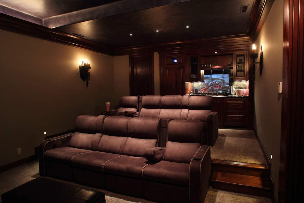 Home Theater Room Designs Exemplary