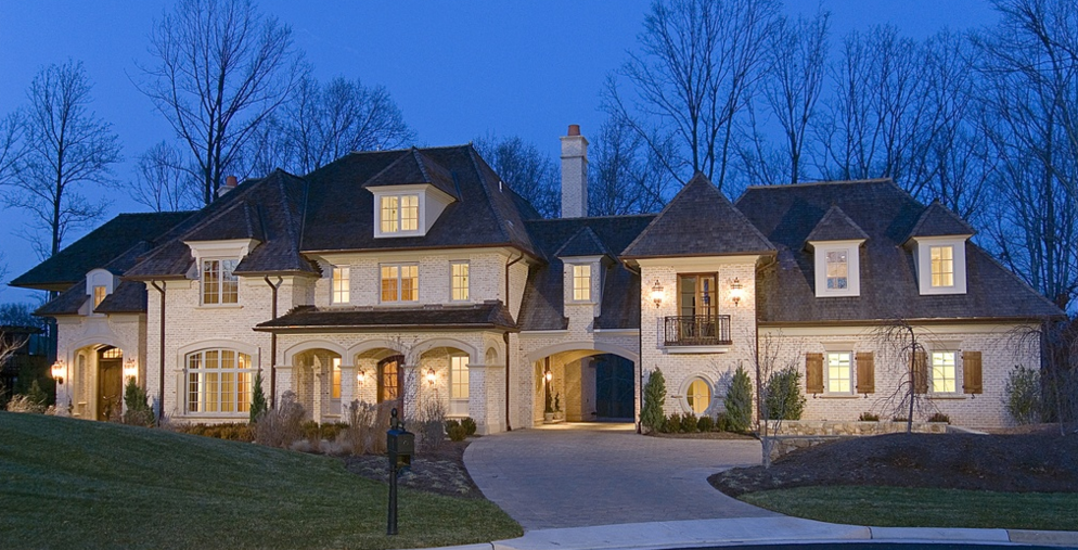 Home United States Homes Square Foot Brick Mansion Mclean