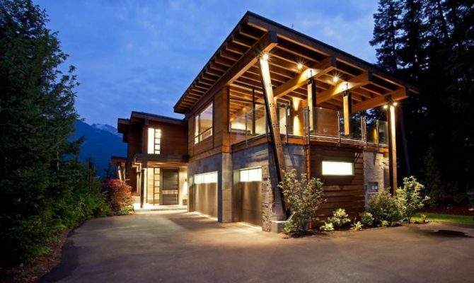 Home Whistler British Columbia Canada Most Beautiful Houses