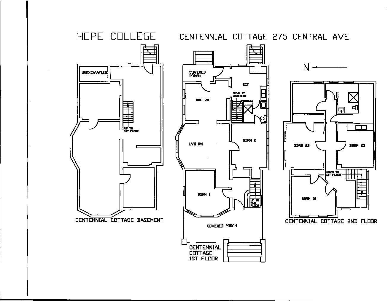Hope College Campus Offices Residential Life Housing