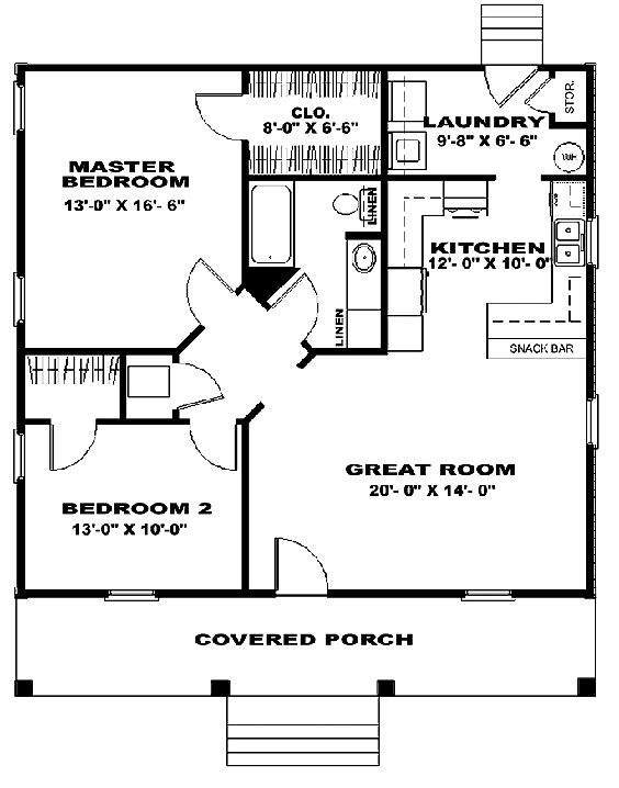 Horseshoe Shaped Home Plans Large Outstanding