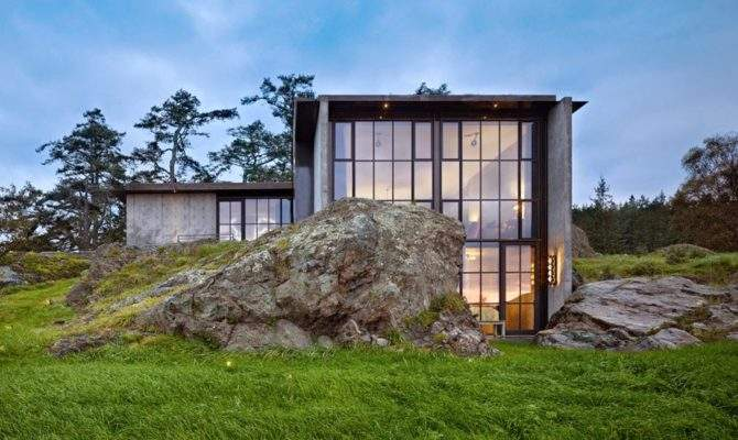 House Designs Extraordinary Stone Design