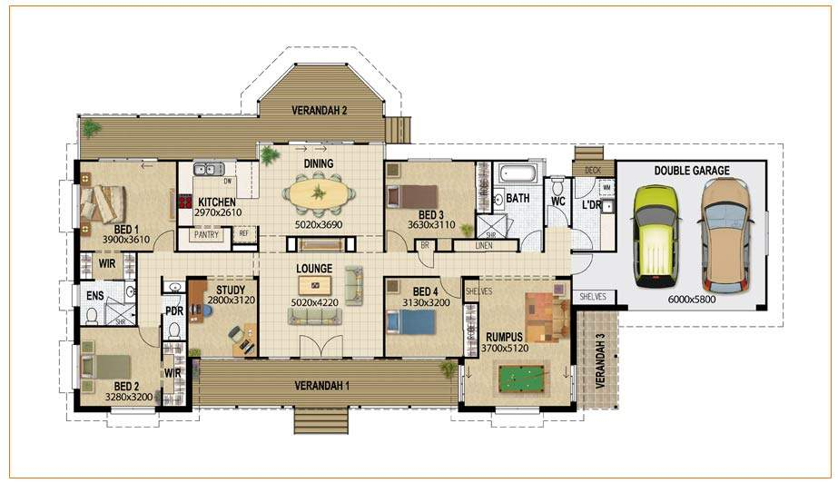 House Floor Plan Index Australian Plans Home