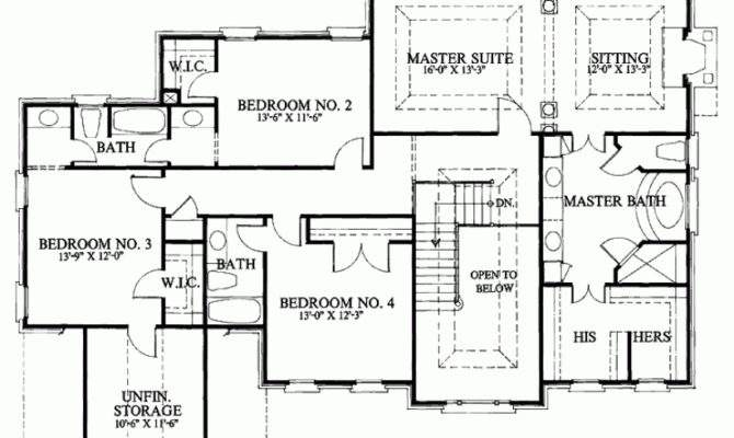 House Floor Plans Note Shown