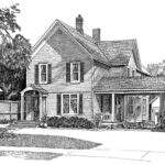 House Line Drawing Smaller