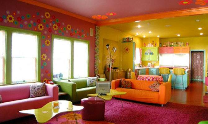 House Living Room One Total Photos Multi Colored Beach