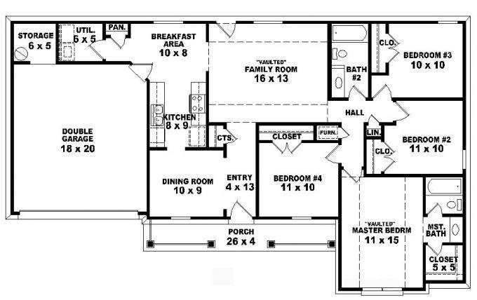 House Plan Details Small Plans Bedroom